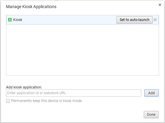 Setting Up a Chrome OS Device in Kiosk Mode – MachineMetrics
